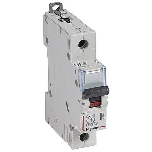 Выключатель автоматический 1п (однополюсный) 10А C 6кА DX3-E