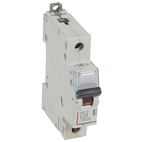 Выключатель автоматический 1п (однополюсный) 25А C 6кА DX3-E
