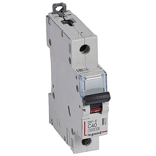 Выключатель автоматический 1п (однополюсный) 40А C 6кА DX3-E