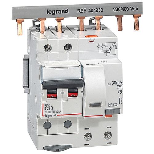 Выключатель автоматический дифференциального тока (АВДТ) DX3 2П 10А 30MА-АC 4м