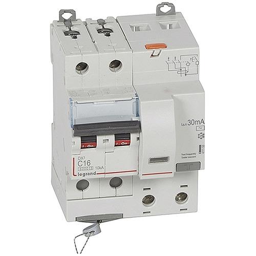 Выключатель автоматический дифференциального тока (АВДТ) DX3 2п 16А 30мА АС