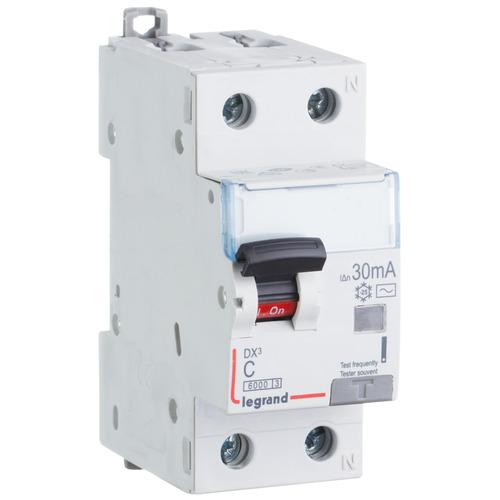 Выключатель автоматический дифференциального тока (АВДТ) DX3 1п+N 10А 30мА АС