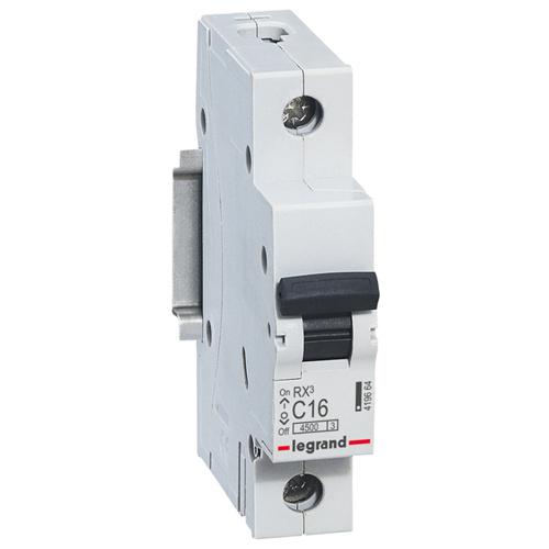 Выключатель автоматический 1п (однополюсный) 10А C 4,5кА RX3