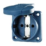 Розетка панельная SCHUKO 16А 230В 2Р+E синяя IР54 (11031) MENNEKES