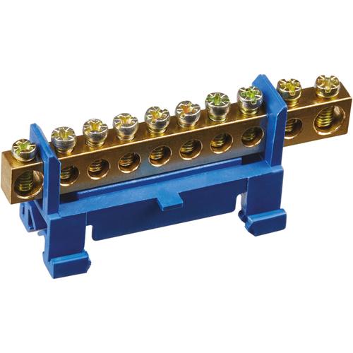 Шина нулевая на DIN-изоляторе тип Стойка NBB-M69-10P/B (71182)