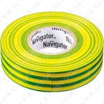 Изолента ПВХ 15мм желто-зеленая 20м NIT-B15-20/YG (71108) Navigator