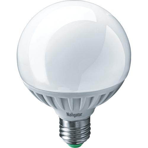 Лампа светодиодная LED 12Вт Е27 теплый (шар) (94147 NLL-G95)