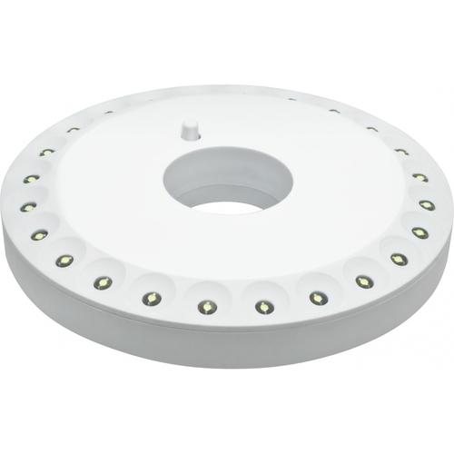 Фонарь светодиодный NPT-CA05-3AA 24LED кемпинговый пластик (94947)