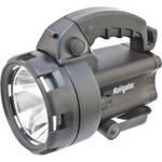 Фонарь светодиодный NPT-SP09-ACCU 1LED 3Вт+4LED аккумуляторный прожектор пластик (94963)