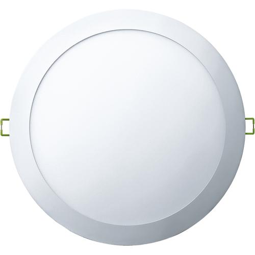 Светильник светодиодный ДВО-24w 4000К 1600Лм slim белый (71382 NLP-R1-24W)