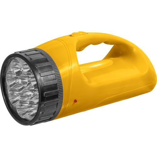 Фонарь светодиодный NPT-SP13-ACCU 12+18LED 90лм 50м прожектор+кемпинг пластик 1.1Ач (94783)