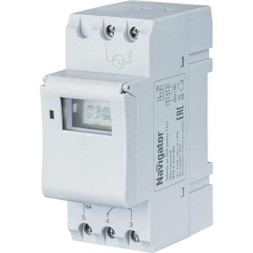 Таймер электронный на DIN-рейку ТЭ15 серии NTR (61559)