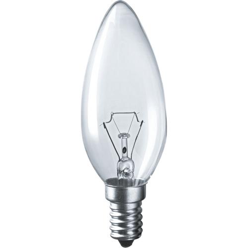 Лампа накаливания декоративная ДС 40вт B35 230в Е14 (свеча) (94303 NI-B)