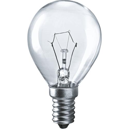 Лампа накаливания декоративная ДШ 60вт Р45 230в Е14 (шар) (94316 NI-C)