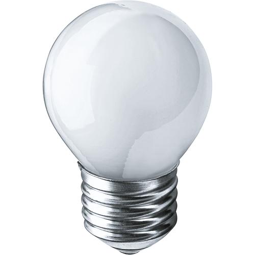 Лампа накаливания декоративная ДШ 60вт Р45 230в Е27 матовая (шар) (94313 NI-C)