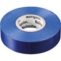 Изолента ПВХ 15мм синяя 10м NIT-B15-10/B (71233) Navigator