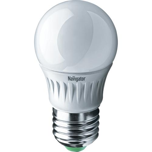 Лампа светодиодная LED 5вт E27 белая шар (94479 NLL-P-G45)
