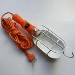 Светильник переносной с выключателем ЛСУ-2 10м 60вт 36/42в с решеткой (ПВС)