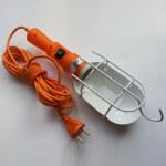 Светильник переносной с выключателем ЛСУ-1 10м 60вт 220В с решеткой (ПВС)