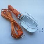 Светильник переносной РВО 12м 60вт 220В с решеткой (ПВС)