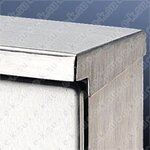 SZ Дождевая крыша д/1016 811x25x325mm (2475000)