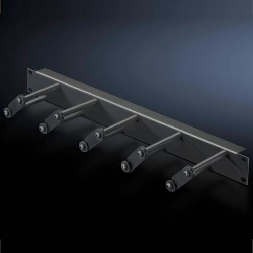 Органайзер 19` 1U с открывающимися скобами Г80 (5502225)