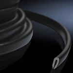 DK Защита кромок черная (1шт) (7072100)