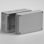 Коробка разветвительная 150х110x70 IP55 без вводов (67054) Рувинил