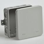 Коробка распределительная 100х100х35 IP54 12 кабельный ввод Тусо (67095) Рувинил