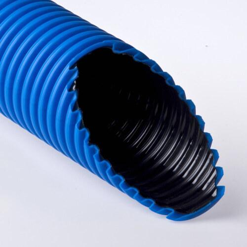 Труба двустенная ПНД/ПВД 200/178.7мм синяя (Т2-КЛ0-200С) Рувинил