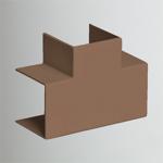 Тройник наклад. 90 град. для РКК-100х60 и 100х40 (коричневый) (ТРН-100х60-К) Рувинил