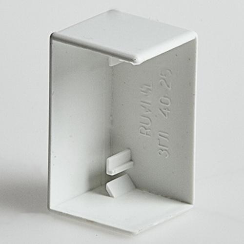 Заглушка для РКК-16х16 (белая) (ЗГЛ-16х16) Рувинил