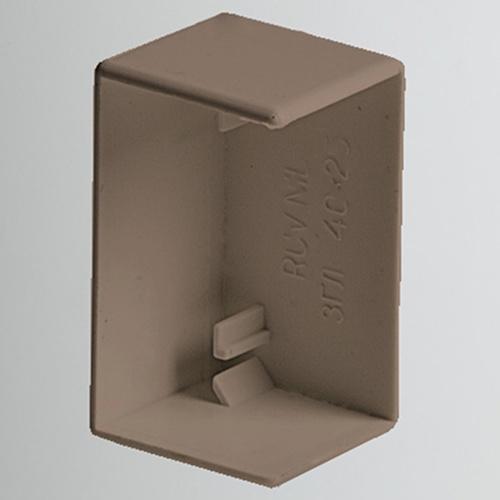 Заглушка для РКК-20х10 (коричневая) (ЗГЛ-20х10-К) Рувинил