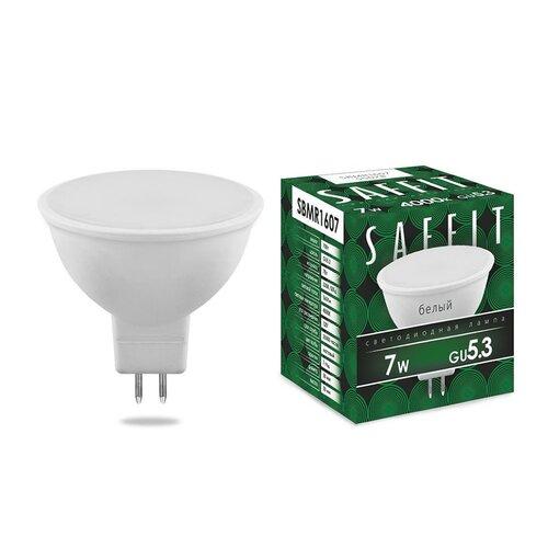 Лампа светодиодная LED 7Вт GU5.3 230В белый, SBMR1607 (55028) SAFFIT