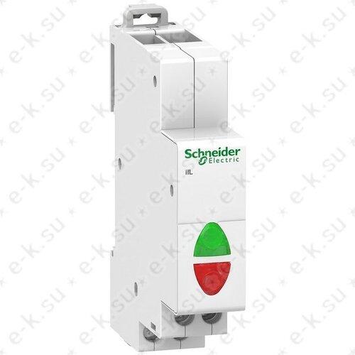 Световой индикатор iIL красный+зеленый 230В