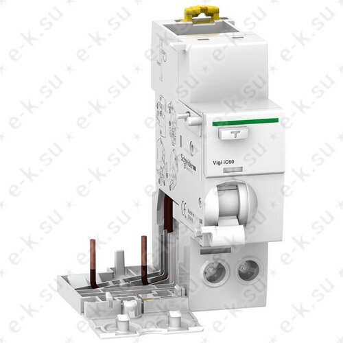 Блок дифференциальной защиты Vigi iC60 2П 25A 30мА A-SI