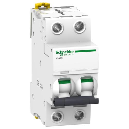 Автоматический выключатель iC60N C 0,5A 2P