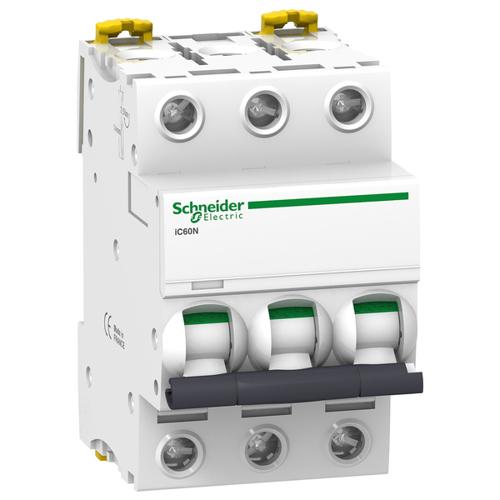 Автоматический выключатель iC60N C 4A 3P