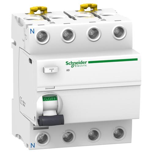 Выключатель дифференциального тока (УЗО) iID 4P 63A 100мА AC-ТИП