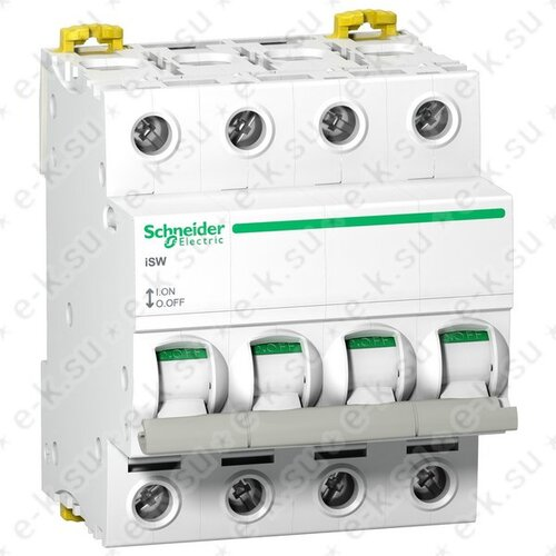 Выключатель нагрузки iSW 4П 125A