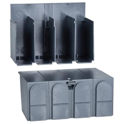 Клеммные заглушки - 3 полюса/4 полюса - для INS40..160 (2 штуки)