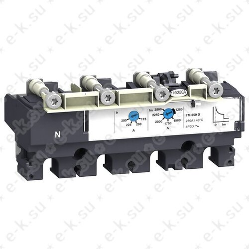 Расцепитель для NSX250 TM250D 4П4T