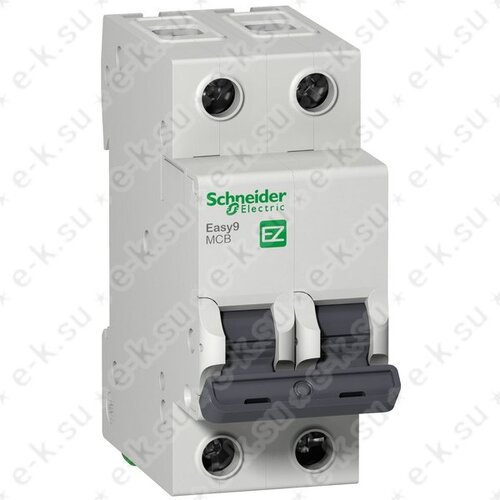 Автоматический выключатель 2П 40A B 4,5кА 230В Easy9