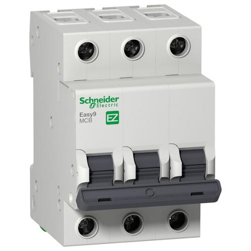 Автоматический выключатель 3П 16A B 4,5кА 400В Easy9