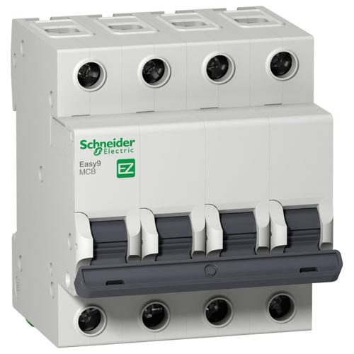 Автоматический выключатель 4П 6А С 4,5кА 400В Easy9