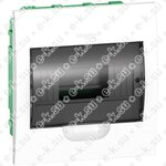 Щит распределительный встраиваемый на 24 модуля белый, дверь прозрачная IP40 Easy9