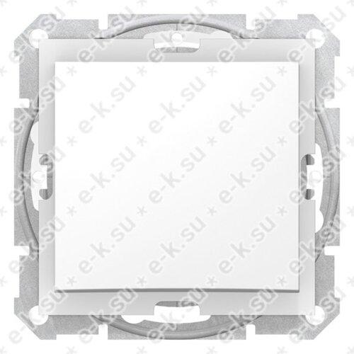 Sedna Выключатель 1-клавишный в рамку IP44 белый