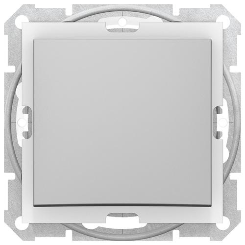 Sedna Выключатель IP44 алюминий