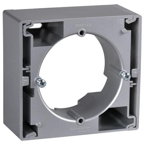Sedna Коробка для наружного монтажа 1-постовая, алюминий