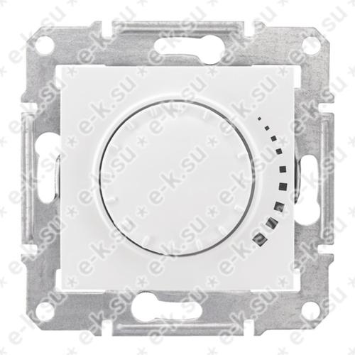 Sedna Светорегулятор поворотный 60-325 Вт/Ва. индуктивный, белый